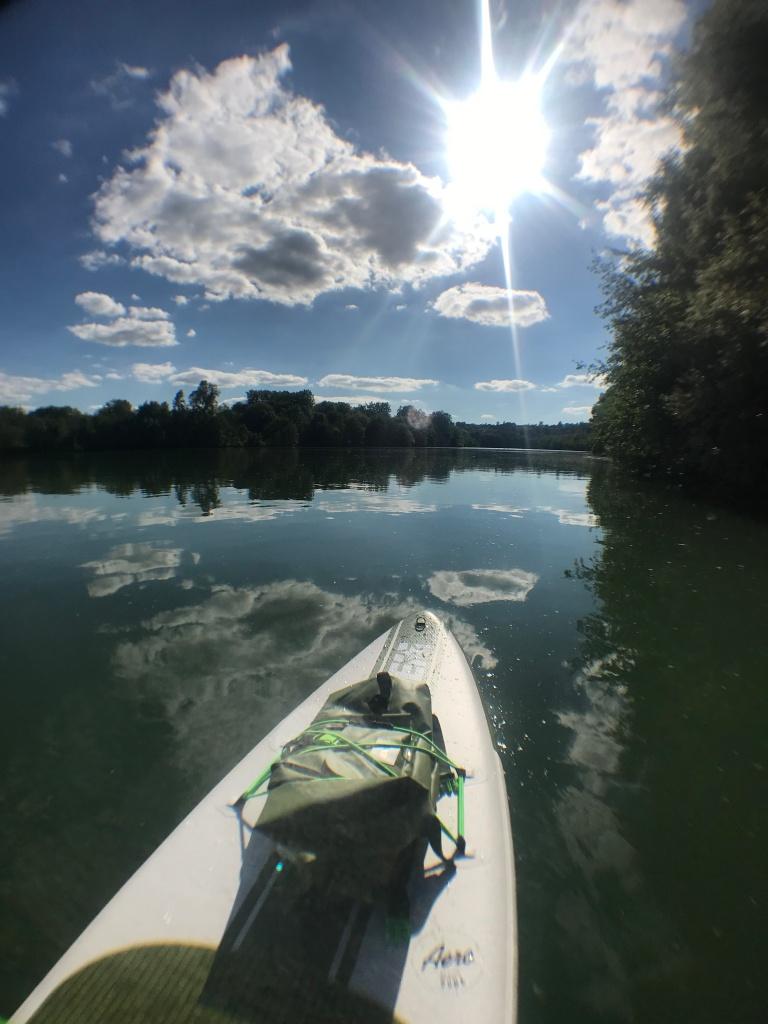 Paddle sur la Seine au départ de Vernou-la-Celle-sur-Seine