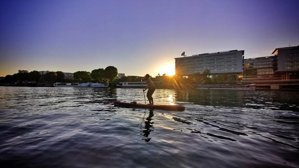 Paddle à Nogent-sur-Marne