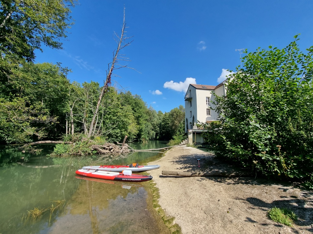 Le moulin de Serbonne, à Crécy-la-Chapelle.