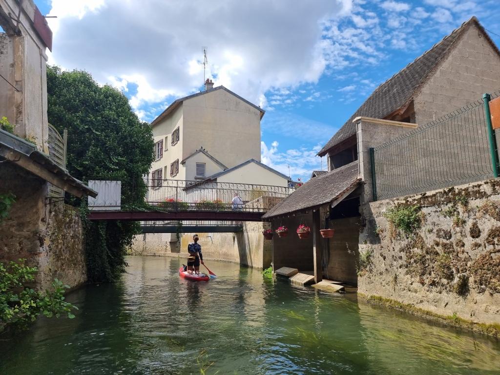 Le brasset du Grand Morin, à Crécy-la-Chapelle.